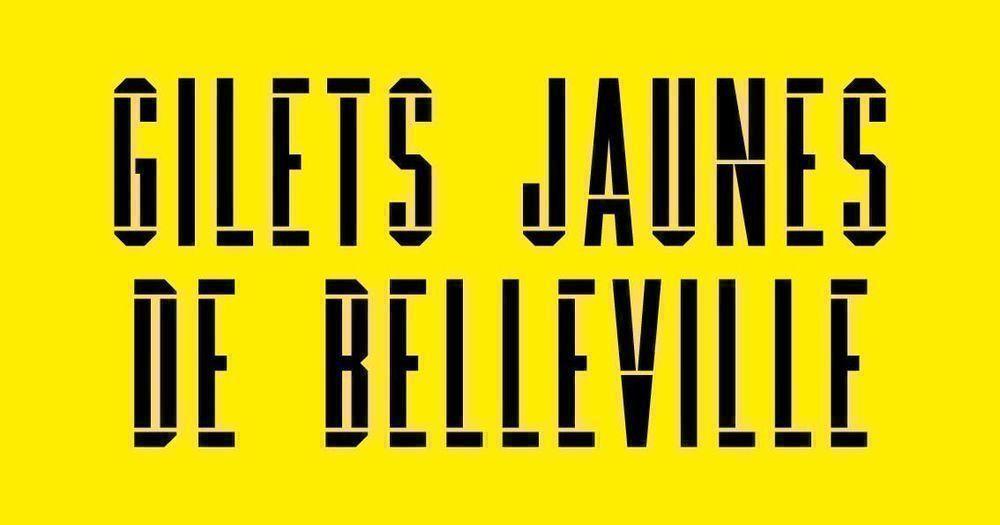 Chroniques des Gilets Jaunes de Belleville