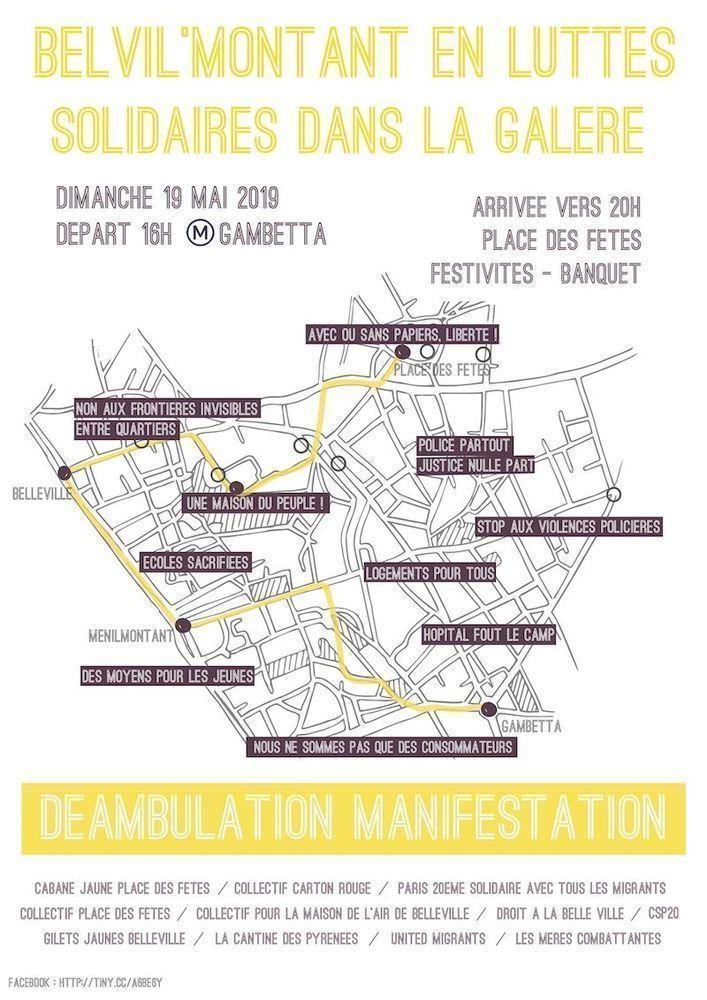 Grande déambulation Belvil'Montant le dimanche 19 mai 2019